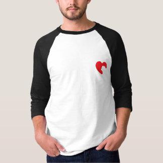 SNORT Heart - Bulldog Tee Shirt