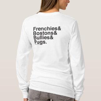 SNORT Helvetica long sleeve T-Shirt