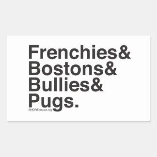 SNORT Helvetica sticker