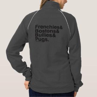 SNORT Helvetica zip up Printed Jacket