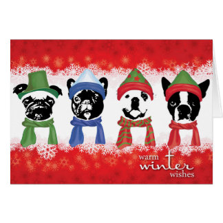 """SNORT Holiday Card (Small -  5.6"""" x 4"""")"""
