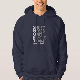 """SNORT Logo Vertical Hoodie """"Dark"""""""