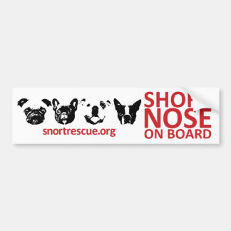 SNORT Short Nose Onboard Bumper Sticker