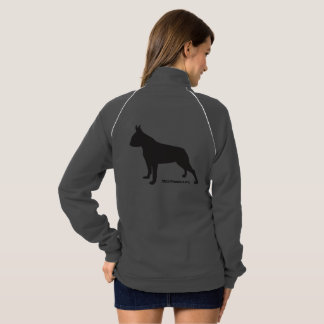SNORT simple boston zip up Track Jacket