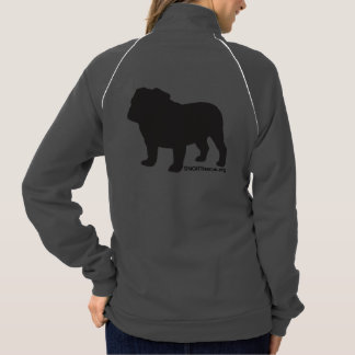 SNORT simple bulldog zip up Printed Jacket