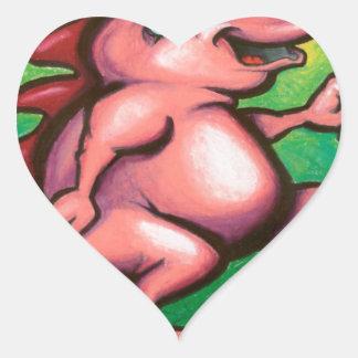 Snorts Heart Sticker