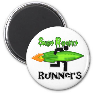 Snot Rocket Runners 2 Inch Round Magnet
