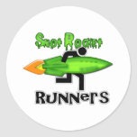 Snot Rocket Runners Stickers