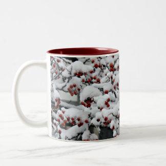 Snow 1 Two-Tone coffee mug