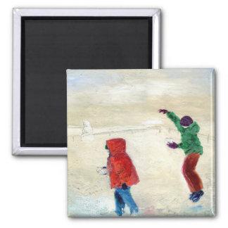 Snow! 2014 magnet