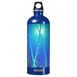 snow-222770 snow crystals cold winter lines FANTAS SIGG Traveler 1.0L Water Bottle