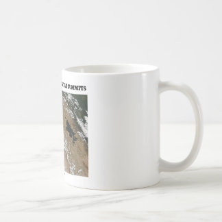 Snow Across Peruvian Summits (Picture Earth) Coffee Mug