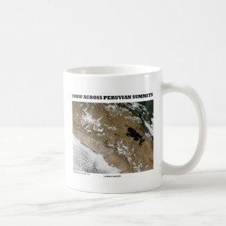 Snow Across Peruvian Summits (Picture Earth) Mugs
