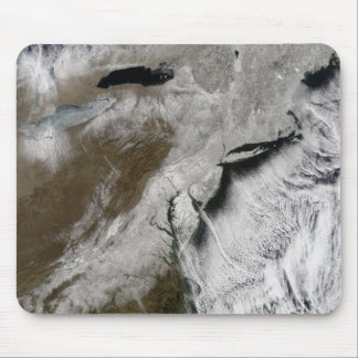 Snow across the northeastern United States Mouse Pad