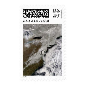 Snow across the northeastern United States Postage