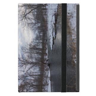 Snow Along James River iPad Mini Case