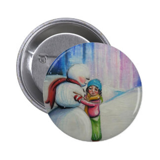 Snow and Me Pin