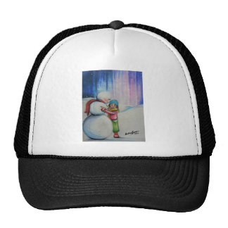Snow and Me Trucker Hat