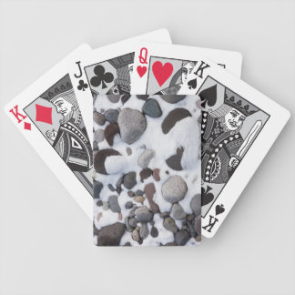 Snow And Rocks, Mt. Rainier National Park 2 Bicycle Playing Cards