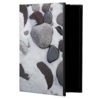 Snow And Rocks, Mt. Rainier National Park 2 Cover For iPad Air