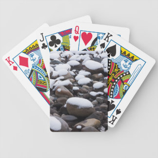 Snow And Rocks, Mt. Rainier National Park Bicycle Playing Cards