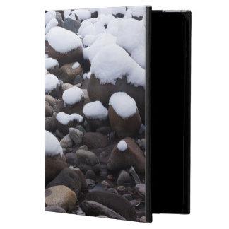 Snow And Rocks, Mt. Rainier National Park Case For iPad Air