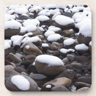 Snow And Rocks, Mt. Rainier National Park Coasters