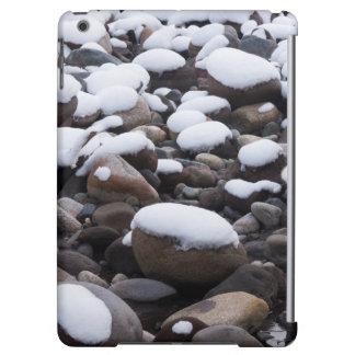Snow And Rocks, Mt. Rainier National Park iPad Air Cases