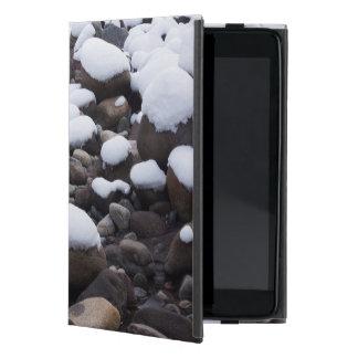Snow And Rocks, Mt. Rainier National Park iPad Mini Case