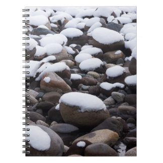 Snow And Rocks, Mt. Rainier National Park Notebook