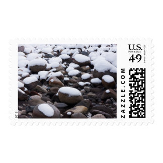 Snow And Rocks, Mt. Rainier National Park Postage