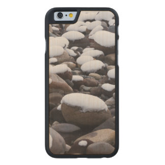 Snow And Rocks, Mt. Rainier National Park Carved® Maple iPhone 6 Slim Case