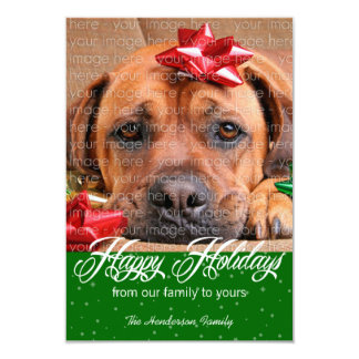 Snow and Sparkles Holiday Photo Cards