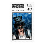 Snow and Steam Postage Stamps