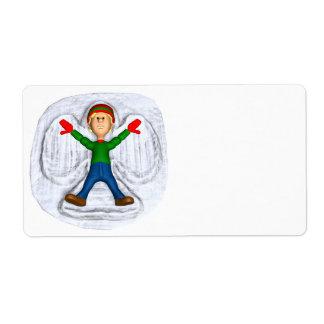 Snow Angel 1 Label