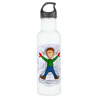 Snow Angel 1 Water Bottle