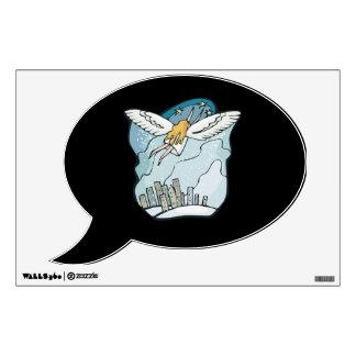 Snow Angel 2 Wall Sticker