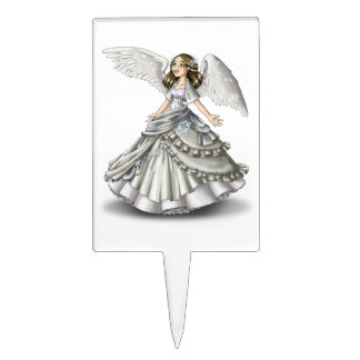Angel Wings Cake Toppers