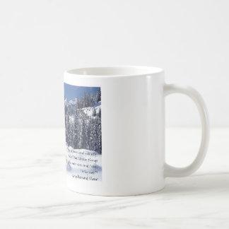 """Snow Angel"" Classic White Coffee Mug"