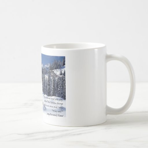 """Snow Angel"" Coffee Mug"