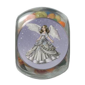 Snow Angel Jelly Belly Candy Jar