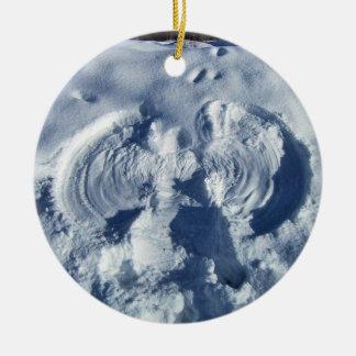 Snow angel ornament