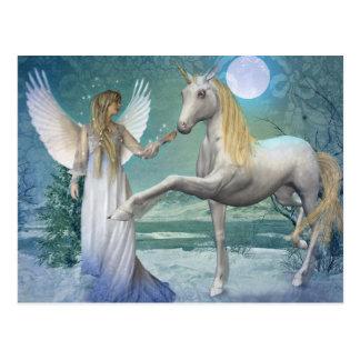 Snow Angel (Postcard)