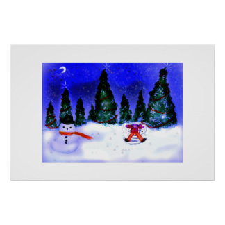Snow Angel print