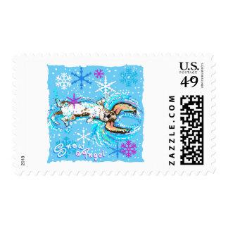 Snow Angel Stamp
