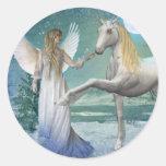Snow Angel (Stickers)