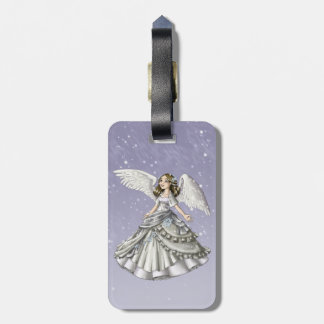 Snow Angel Tag For Luggage