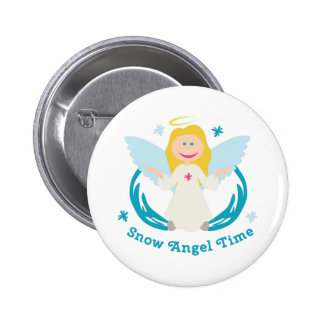 Snow Angel Time Button
