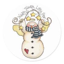 Snow Angel Twinkle Twinkle Little Star Sticker