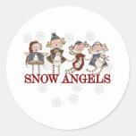 Snow Angels Sticker